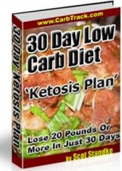 30 Day Low Carb Diet Ketosis Plan