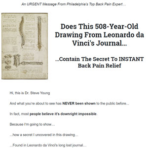 Cure for Lower Back Pain Found